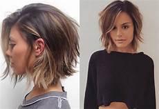 layered bob haircuts ideas for thin hair hairdrome com