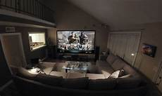wohnzimmer heimkino my home theater living room hybrid hometheater