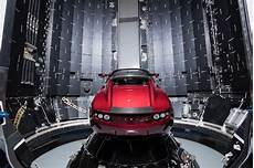 Elon Musk Unveils His Tesla Roadster Being Prepped For