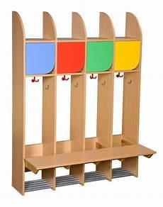 Kindergarderobe Mit Sitzbank - kita quot berlin quot garderobe komplett 4 pl 228 tze kindergarten