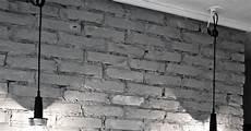 papier peint imitation brique blanche