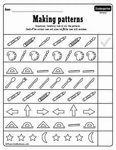 patterns worksheets for kindergarten pdf 11 15 kindergarten math worksheets pdf files to for free