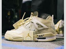 Air Jordan 4 Off White,Off-White x Air Jordan 4 Collab Receives New Release Info,Off white sneaker release 2020|2020-07-13