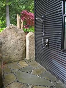 Gartenideen Mit Dusche Einen Au 223 Erordentlichen