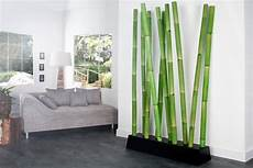 design raumteiler bamboo gr 252 n trennwand dekoration aus