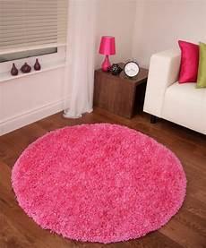 Runder Teppich Rosa - teppich rosa haus deko ideen