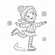 free winter sports coloring pages 17836 coloring page outline of skating winter sports editorial stock photo