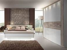 Schlafzimmer Weiß Komplett - schlafzimmer in sandeiche nb mit abs in weiss hochglanz
