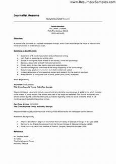 journalism resume template fee schedule template