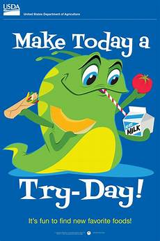 make today a try day encourage kids to try new healthy