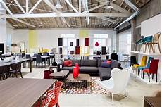 new modern contemporary furniture store showroom in los