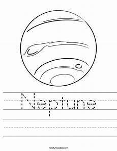 neptune planet worksheet neptune worksheet twisty noodle