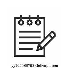 notepad clip art royalty free gograph