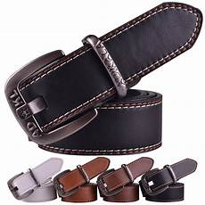 Bakeey Retro Metal Buckle Leather by Fashion Leather Belt For Brand Vintage Metal