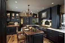 Black Kitchen - black kitchen design kitchen cabinets rockville center ny