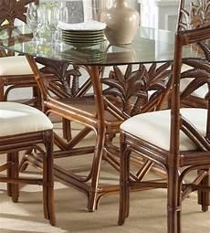 Rattan Kitchen Furniture Indoor Rattan Wicker Rectangular Dining Table 800 99
