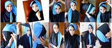 Model Jilbab Turban Pesta Dan Cara Pemakaian Model Jilbab