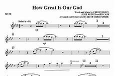 how great is our god flute sheet music direct