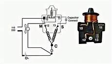 danfoss relay and capacitor type connection with diagram in urdu hindi fully4world