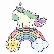 Unicorn Malvorlagen Kostenlos Copy Paste Unicorn In Rainbow With Clouds And Sun Kawaii