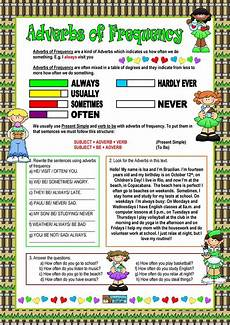 grammar worksheets adverbs of frequency 24690 adverbs of frequency worksheet free esl printable worksheets made by teachers