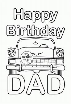 Ausmalbilder Geburtstag Papa Happy Birthday Coloring Page For