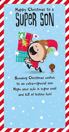 super son christmas greeting card cards