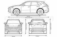dimensions porsche cayenne porsche cayenne 3 2017 carissime l info automobile