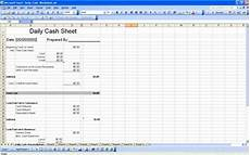 daily cash sheet template excel daily cash sheet cash sheet template free cash sheet