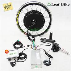 20 inch 36v 750w front hub motor electric bike conversion kit leaf bike