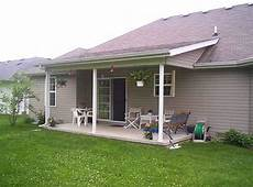 patio roof extension with basement bowing building construction diy chatroom home