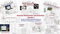 german worksheets family 19644 german store homeschool den