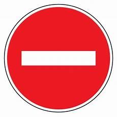 sens interdit panneau panneau de chantier sens interdit 224 tout v 233 hicule b1 signastore