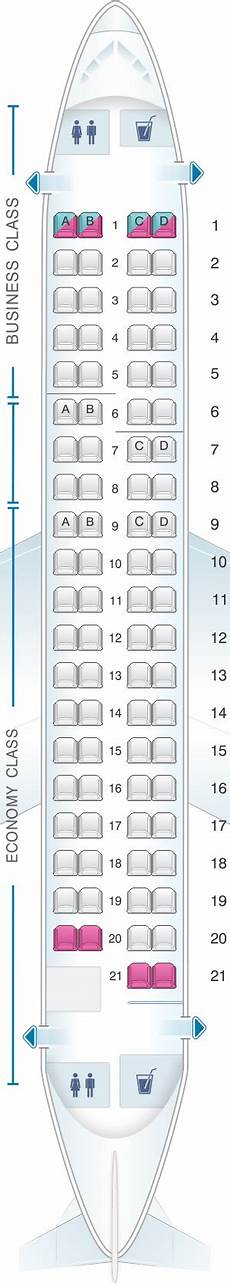 Lot Airlines Seating Chart Mapa De Asientos Lot Polish Airlines Embraer 175 Plano