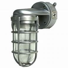 southwire industrial 1 light brushed steel outdoor weather