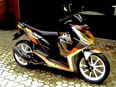 Modifikasi Motor Honda Beat by Gambar Modifikasi Motor Honda Beat Fi Terkeren 2016
