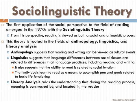 Sociolinguistic Theory