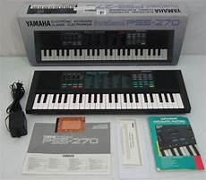 yamaha pss 270 portasound voice bank keyboard electronic
