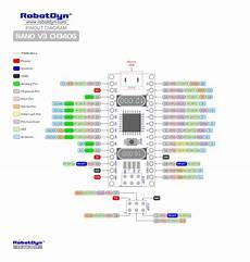 arduino nano ch340 schaltplan wiring diagram