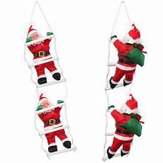 weihnachtsmann am seil leiter weihnachts deko weihnachten