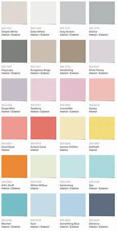 sherwin williams pottery barn kids color palette 2014 home decor inspiration in 2019