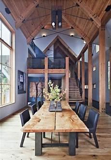 deco bois brut salle 224 manger meubles de salle 224 manger table de repas