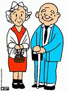 ausmalbilder opa und oma opa und oma zum ausdrucken