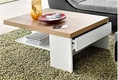 Inosign Couchtisch Mit Schublade 5 Cm Starke Tischplatte