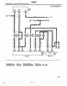 1998 nissan pathfinder stereo wiring diagram repair guides electrical system 1998 audio and antenna autozone