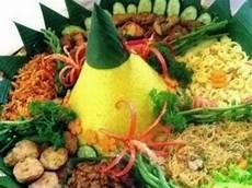 Resep Nasi Tumpeng Kuning Lengkap Lauk Pauk Oleh