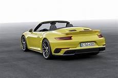 Porsche 911 Turbo S Cabriolet 991 2 2016 Autoevolution