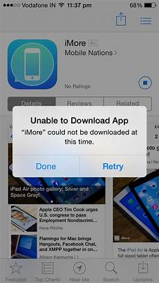 why am i unable to download any apps from the app store