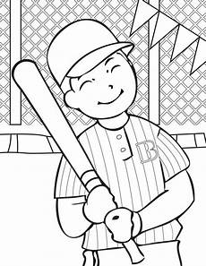 sports coloring pages printable 17726 bateador de b 233 isbol hd dibujoswiki