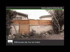 R 233 Hausse De Mur En Iroko